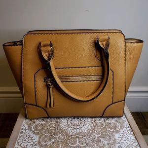 Forever 21 Satchel Bag in Brown